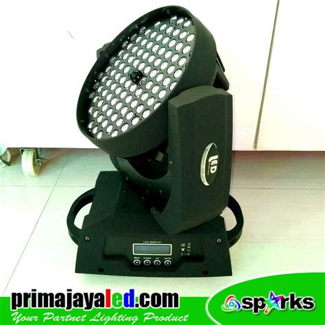 Lu Par Spark Mini 12 X 1 Watt moving par 108 spark zoom prima jaya led