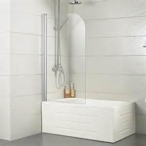 Curved Bathtub Doors by European Bathtub Screen With Curved Edge Bathroom