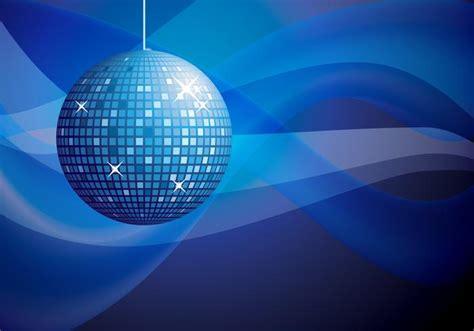 lade da discoteca blaue disco hintergrund vektor kostenlose vektor