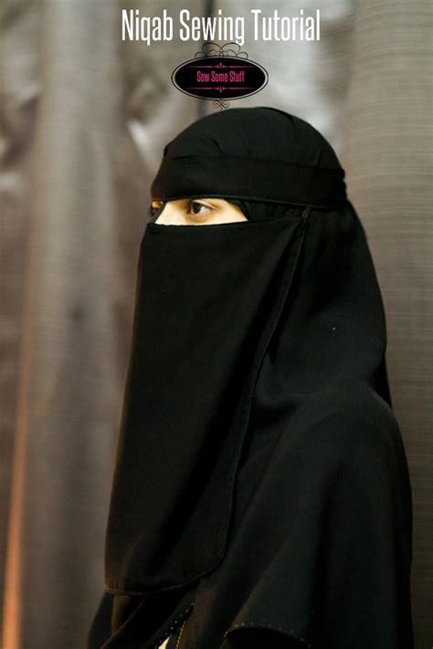 Niqab Tutorial 2016   how to sew a niqab sew some stuff