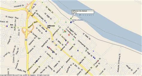 missouri amtrak map amtrak station jefferson city mo