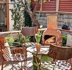 chiminea patio ideas small garden ideas on townhouse garden