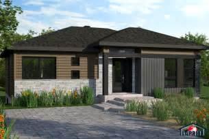 Garage Homes Floor Plans designer zen contemporain lap0512 maison laprise