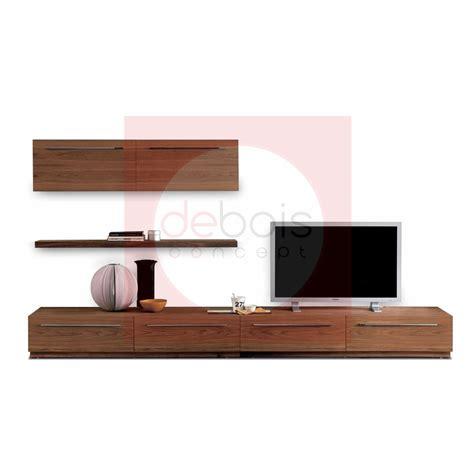 mueble para tv moderno mueble de madera moderno para tv debois muebles y decoraci 243 n