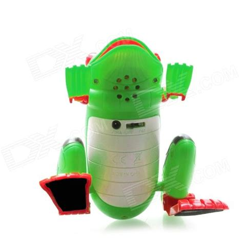 2 Channel IR Remote Control R/C Frog Toy   Green   Free