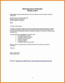 5 letter for work experience example ledger paper