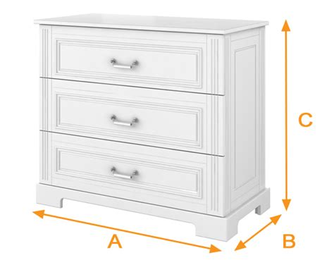Standard Baby Changing Table Dimensions Standard Baby Changing Table Dimensions White Fillman