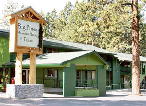big pines mountain house south lake tahoe hotel big pines mountain house