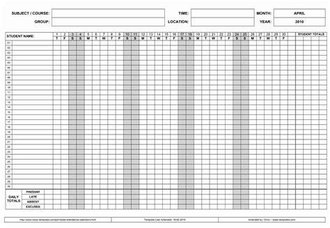 Free Employee Attendance Calendar Employee Tracker Employee Attendance Calendar 2018 Free Tracker Pdf Excel Template Section