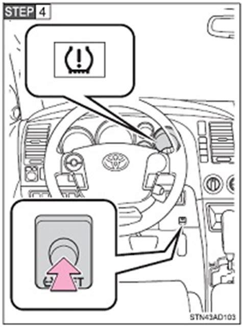Tire Pressure Warning Light Toyota Corolla Reset Maintenance Light On Toyota Corolla Autos Post