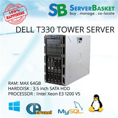 Server Dell Poweredge T330 buy dell poweredge t330 server in india at low