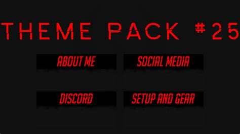 twitch business card templates twitch panel template templates station