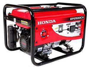Honda Ep2500 Generator Generador Electrico Honda Ep2500cx