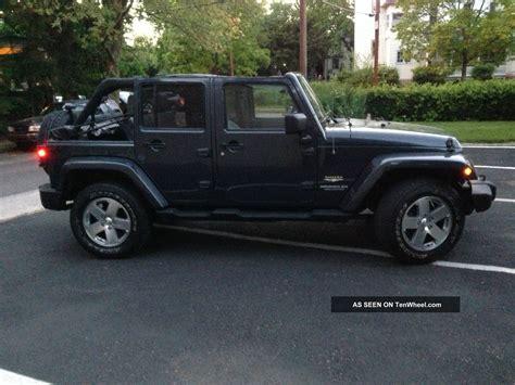 2008 4 Door Jeep Wrangler by 2008 Jeep Wrangler Unlimited 4x4 Sport Utility 4