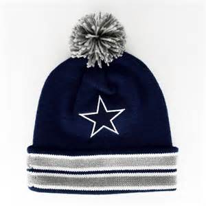 dallas cowboys colors dallas cowboys the cuffed pom knit team colors
