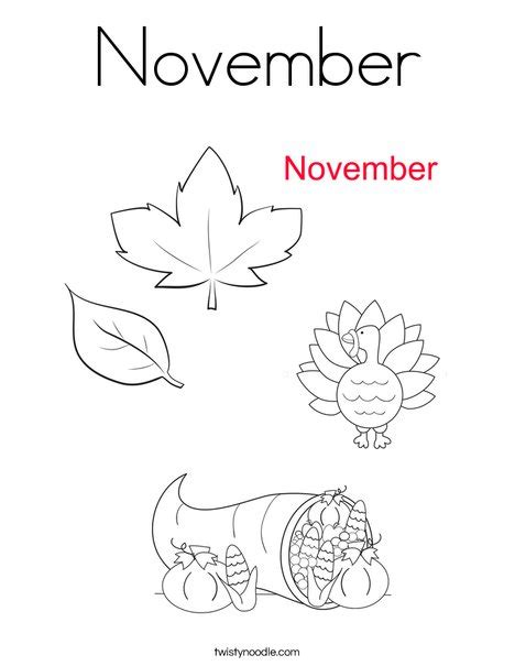 printable coloring pages for november november coloring page twisty noodle