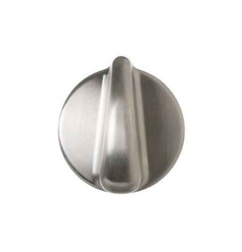range knob stainless steel appearance