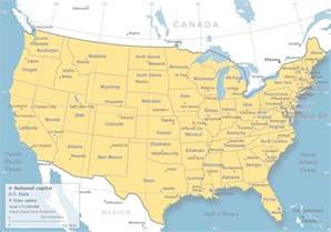 maps usa map longitude