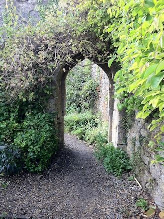 The Walled Garden At Mells Archway All Things Bright Walled Garden Mells