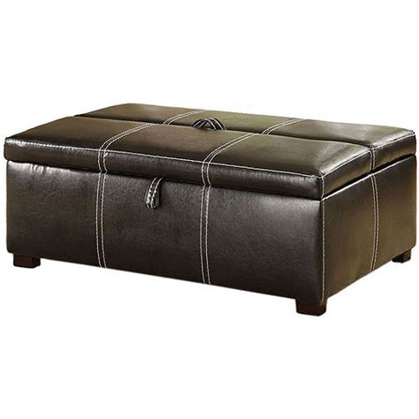 ottoman with hidden twin bed hokku designs apolline sleeper ottoman walmart com
