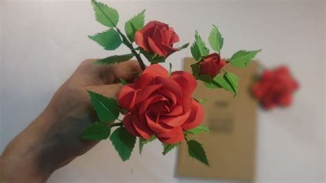 How To Make A Realistic Paper - how to make realistic roses easy way to make a