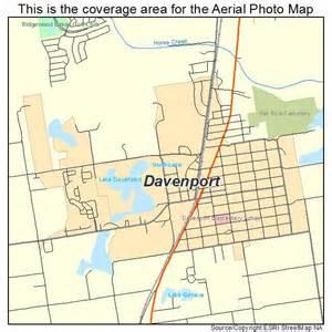 aerial photography map of davenport fl florida
