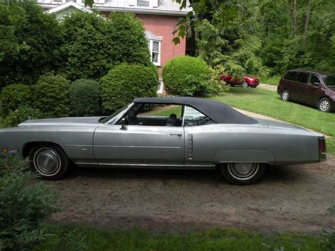 1971 Cadillac Eldorado Convertible For Sale by Find Used 1971 Cadillac Eldorado Convertible In Irwin Pennsylvania United States