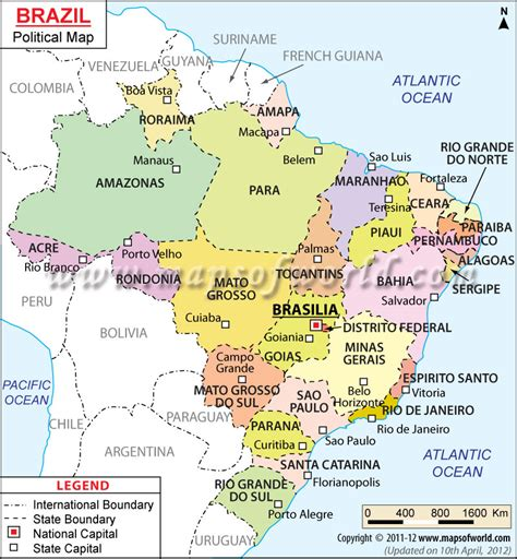 political map brazil span 131 1 span 131 blogs