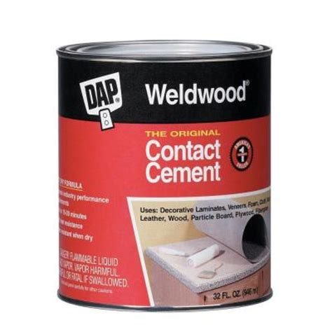 dap weldwood 32 fl oz original contact cement 00272