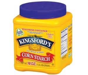 what is cornstarch baking bites