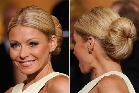 how to get kelly ripa waves kelly ripa s oversized classic bun do it yourself how
