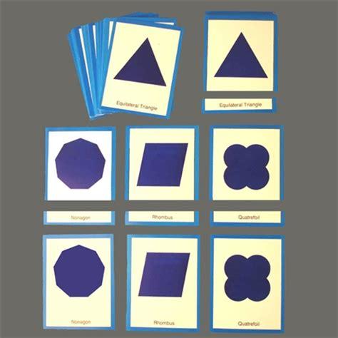 printable montessori geometric shapes 7 best images of printable shapes flash cards montessori