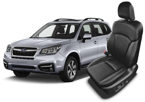 subaru forester seats subaru forester leather seats interiors seat covers
