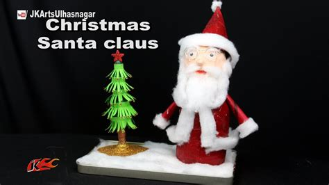 how to make santa claus christmas decoration best out