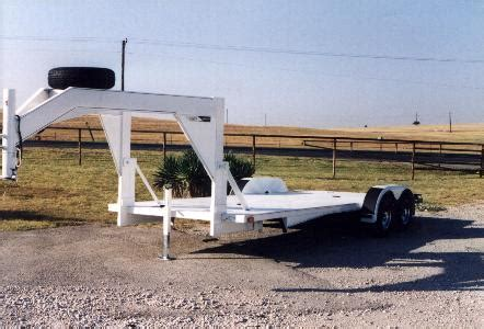 Aluminum Gooseneck Flatbed Trailers for Sale in Texas