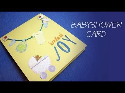 how to make baby shower cards how to make a simple baby shower money gift card for a boy