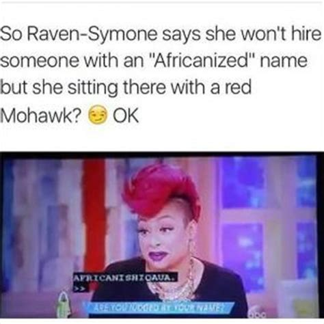 Raven Symone Memes - funny hair kappit