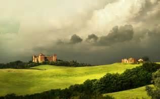 Castles cloudy landscape wallpapers pictures photos images