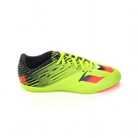 youth indoor soccer shoes messi 15 3 youth indoor soccer shoes semi solar slime