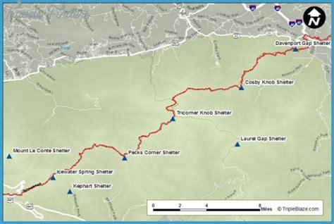 appalachian trail map carolina appalachian trail map carolina travel map