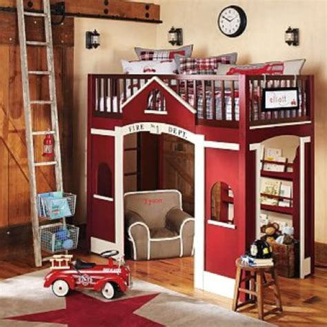 pottery barn kids loft bed pottery barn kids firehouse loft bed the affair pinterest
