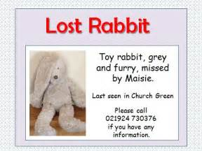 lost rabbit adventure powerpoint for teaching narrative to
