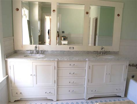 Cottage Style Mirrors Bathrooms by Cottage Style Bathroom Vanity Haus Custom