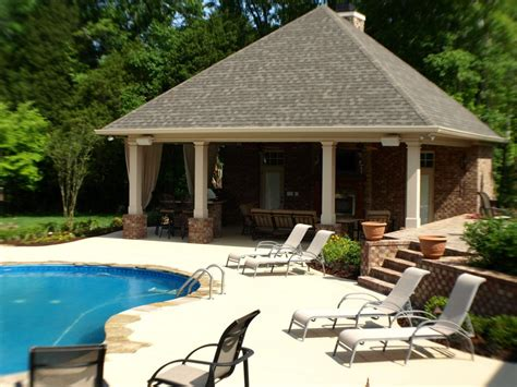Swimming Pools Backyard Resorts Backyard Living Nashville Backyard Pool House