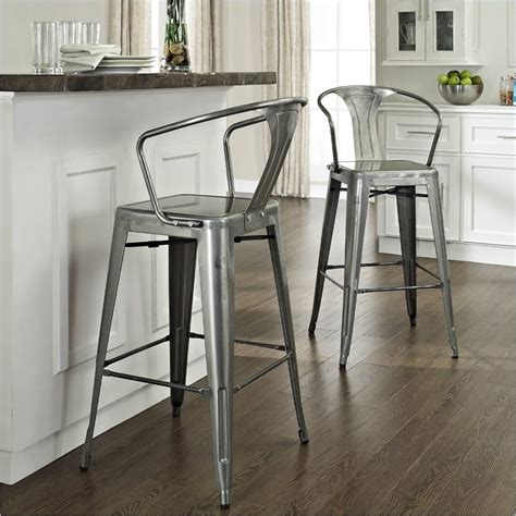 Vintage Metal Stool With Back by Vintage Metal Bar Stools That Will Inspire You In Getting