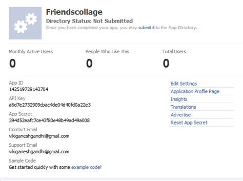 tutorial php facebook api php sdk facebook api download freemixsix