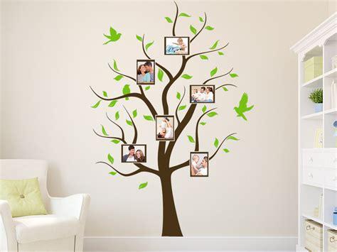 wandtattoo fotobaum bei homestickerde