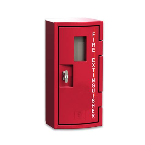 outdoor fire extinguisher cabinets fsp cfe450rl 10 lbs plastic fire extinguisher