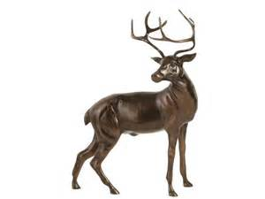Glass Globes For Lights Large Stag Statue Bronze Stag Sculpture