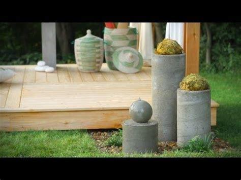 Bad Idee 3413 by Die Besten 25 Gartendeko Aus Beton Ideen Auf